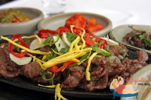 Beef bulgogi traditional korean barbecued meat dish